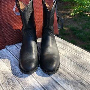 Men's Ariat Black leather boots
